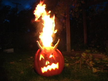 This, and many other fascinating ideas at www.extremepumpkins.com