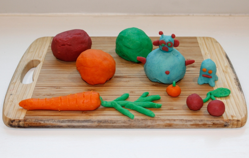 playdough creations